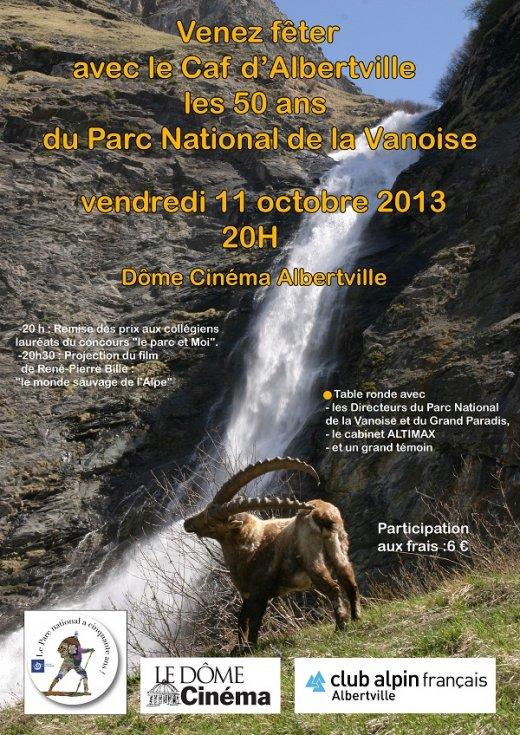 les 50 ans du Parc National de la Vanoise - Club Alpin Francais ...